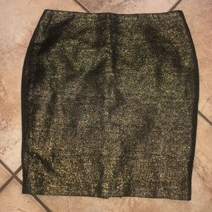 Forever 21 metallic skirt size 6